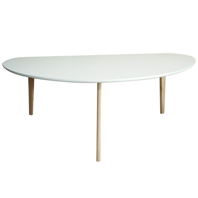 Harly Sofabord Hvid, 120 X 60 X 45 Cm