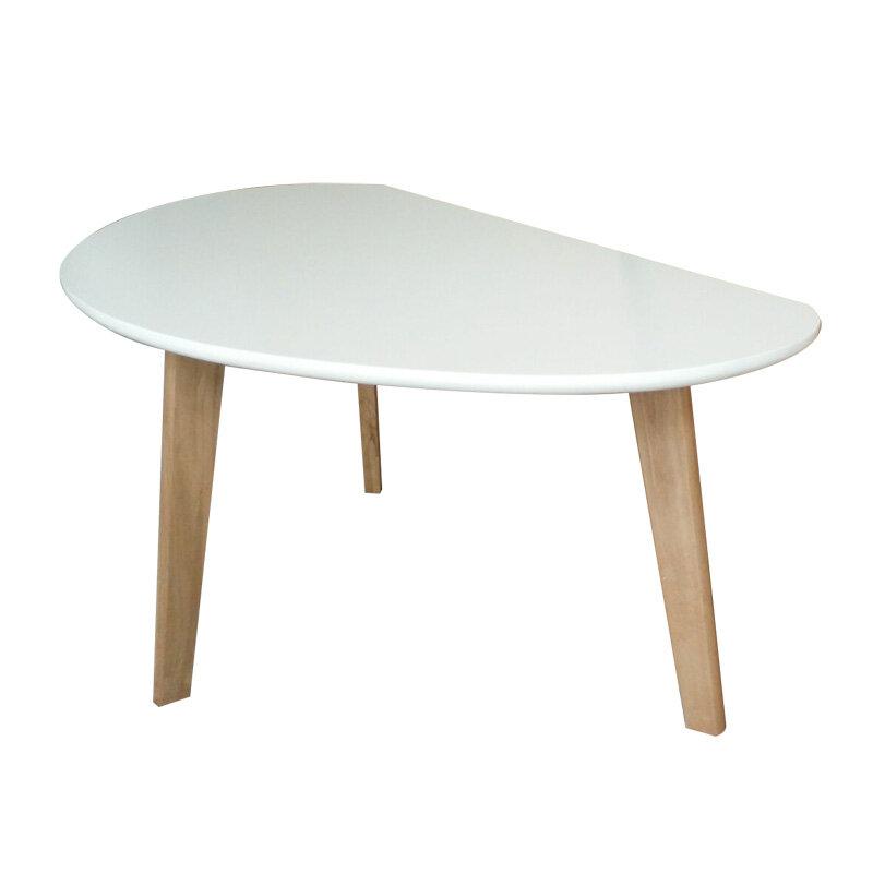 Harly Sofabord Hvid, 85 X 48 X 40 Cm