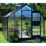 Juliana Junior 12,1 m² - drivhus antracit 6 mm polycarbonat ¤