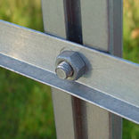 Juliana drivhusbolte 20 stk. - aluminium