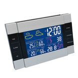 Agimex 66828 trådløs termo-hygrometer m/farvet display 230V