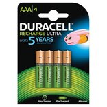 "Duracell Staycharged (genopladelig) batteri LR03 ""AAA"" 4 stk."