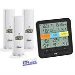 Weather Hub termo/hygro display m/3 sensorer