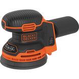 Black&Decker akku excentersliber Ø125 mm 18V BDCRO18N-XJ (uden batteri og lader)