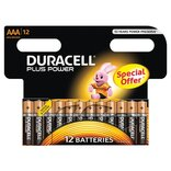 "Duracell batteri Plus Power LR03 ""AAA"" 1,5V - 12 stk. pk."