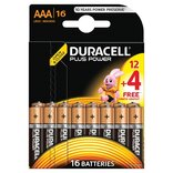 "Duracell batteri Plus Power LR03 ""AAA"" 1,5V - 16 stk. pk."