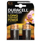 "Duracell batteri Plus Power LR14 ""C"" 1,5V - 2 stk. pk."