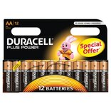 "Duracell batteri Plus Power LR6 ""AA"" 1,5V - 12 stk. pk."