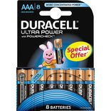 "Duracell batteri Ultra Power LR03 ""AAA"" 1,5V - 8 stk. pk."