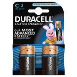"""Duracell batteri Ultra Power LR14 """"C"""" 1,5V - 2 stk. pk."""