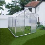 Elmholm Økoline 4,83 m² alu. drivhus med polycarbonatplader
