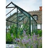 Halls Popular 86 grøn 5,0 m² drivhus med 3 mm delt glas ¤
