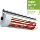 Solamagic el-terrassevarmer 1400ECO+ pro med afbryder - titanium