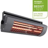 Solamagic el-terrassevarmer 1400ECO+ pro med afbryder - antracit