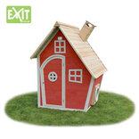 Exit Fantasia 100 rødt legehus 125x133x158 cm ¤
