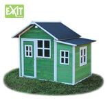 Exit Loft 150 grønt legehus -149x191x160 cm  ¤