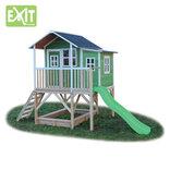 Exit Loft 550 grønt legehus - 348x220x255 cm ¤