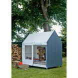 Plus Shelter på hjul 123x203x203 cm ¤