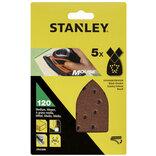 Stanley slibeark til slibemus K120 5 stk.