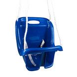 NSH babygynge m/høj ryg blå