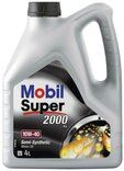 Mobil motorolie 10w-40 - 4 liter