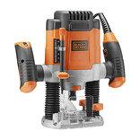 Black&Decker overfræser 1200 Watt KW1200E-QS