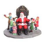 Julemand m/børn til julelandskab