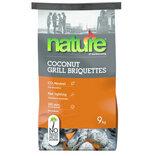 Nature Basic Coconut briketter 9 kg.