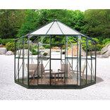 Halls Atrium 9,0 m² antracit med 3mm hærdet glas ¤