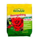 ECOstyle 100% organisk rosengødning  4 kg