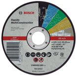 Bosch Skæreskive Universal Ø125 X 1 X 22,23 Mm..
