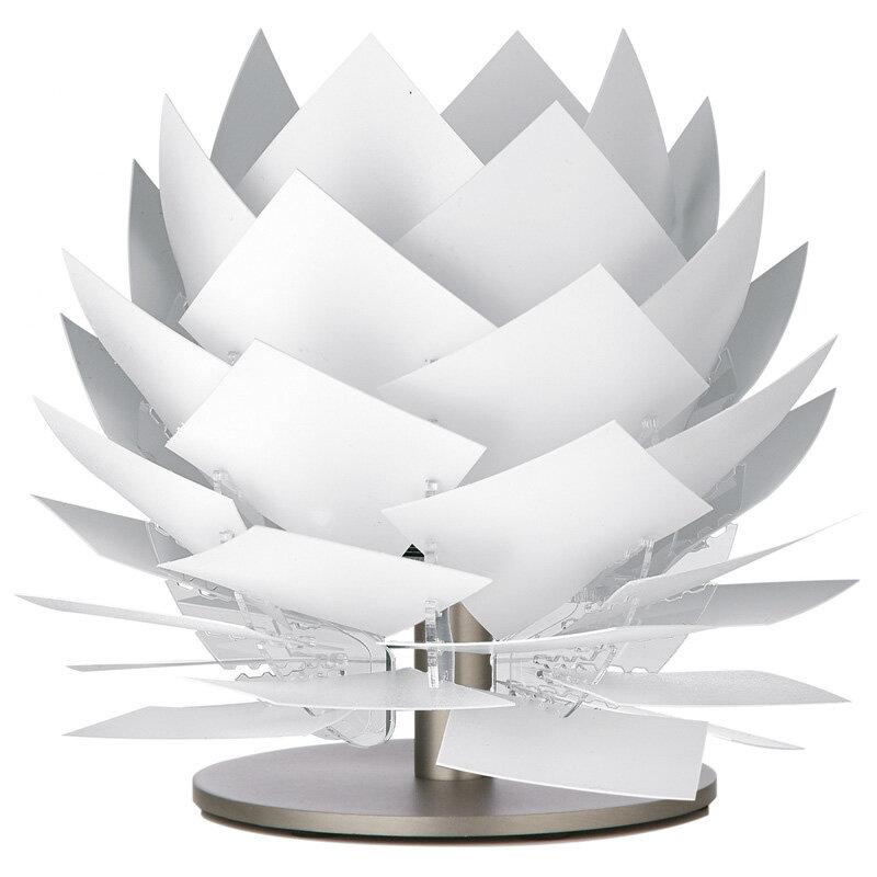 Pineapple Xs Lav Bordlampe Hvid 22 Cm G9