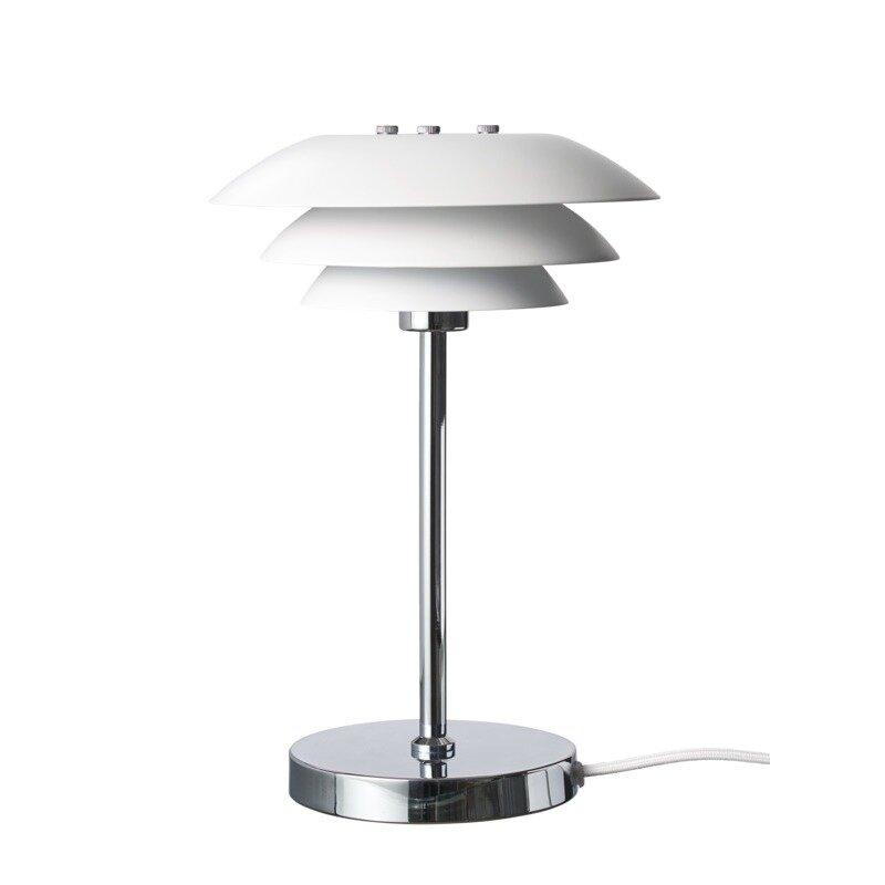 Dl20 Bordlampe Mat Hvid 30x20x20 Cm G9