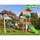 Jungle Gym Home legetårn m/gyngemodul og 2 gynger ¤
