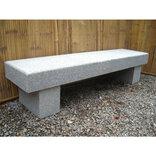 Granit bænk - Lange Maren - lys granit ¤