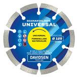 Davidsen diamantklinge universal Ø125 mm