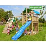 Jungle Gym Fort legetårn med xtra klatrevæg og gynge ¤