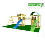 Jungle Gym Legepladsunivers 7 m/ 2 gynger + 2 rutschebaner ¤