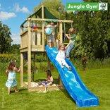 Jungle Gym Lodge legetårn med rebstige ¤