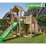 Jungle Gym Mansion legetårn m/grøn rutschebane ¤