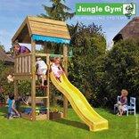 Jungle Gym legetårn Home med gul rutschebane ¤