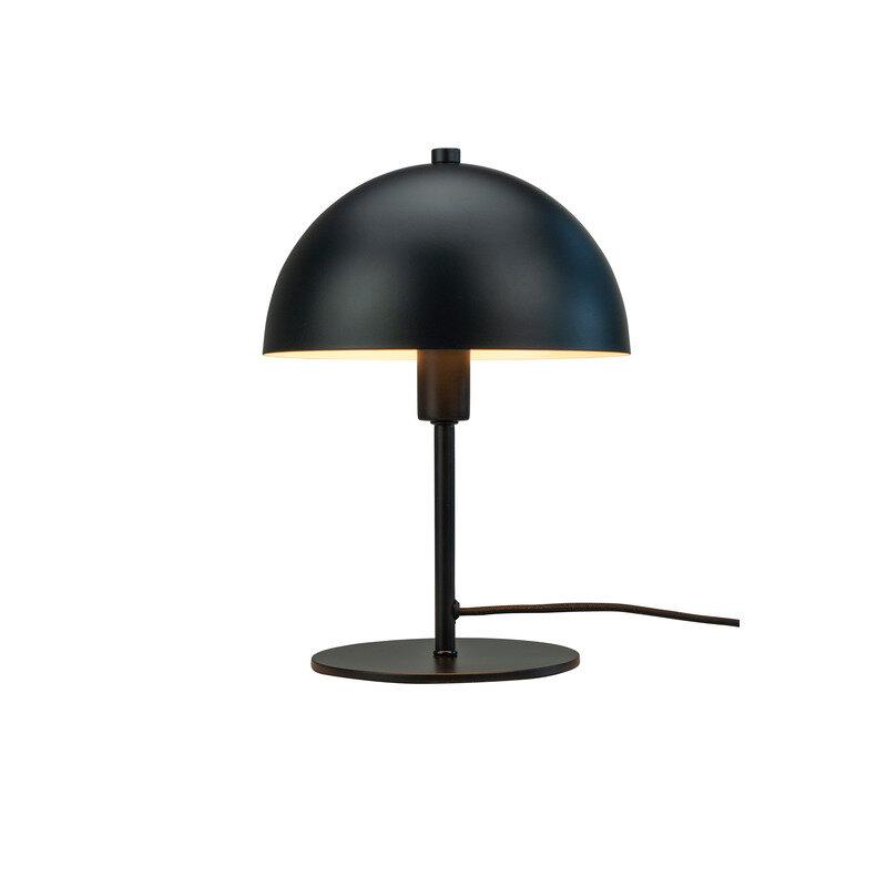 Dyberg Larsen Malmø Bordlampe E14 Mat Sort