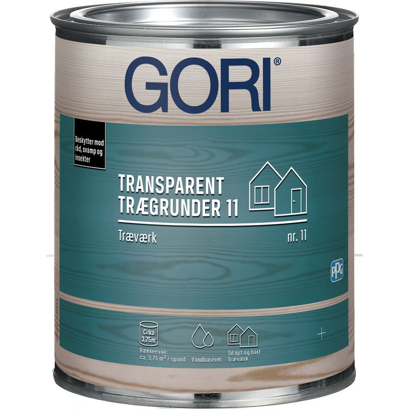 Gori 11 Grunder Farveløs 0,75 L