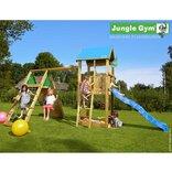Jungle Gym Castle m/klatremodul og 1 gynge ¤