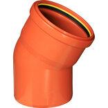 Kaczmarek kloakrør bøjning PP Ø110 mm x30° ~