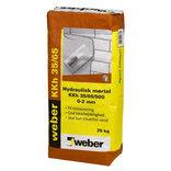Weber hydraulisk mørtel KKh 35/65/5000-2 mm