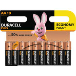 "Duracell Plus Power batteri CP10 ""AA"" 10 stk"