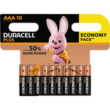 "Duracell Plus Power batteri CP10 ""AAA"" 10 stk"