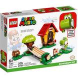 LEGO Super Marios hus og Yoshi