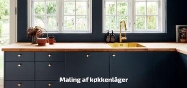 maling af køkkenlåger